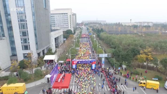 盘锦红海滩国际马拉松赛正式启动